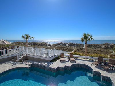 123 Dune Ln - Charming Oceanfront Home in N. Forest Beach w/ Private Pool & Spa