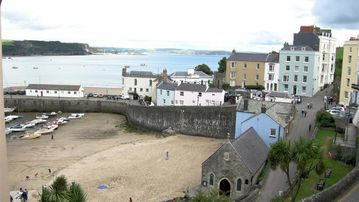 Tenby Station, Tenby, Wales, UK