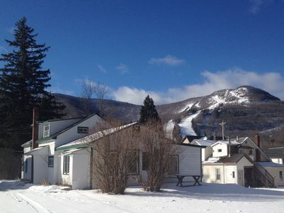 Photo for Cozy 2 Bedroom Apt - Walk To Hunter Mountain In The Catskills