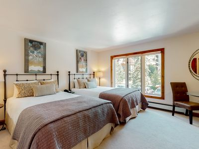 Photo for Lodge room with village view, ski-in/ski-out access, on-site pool & hot tub