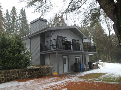 Photo for CHARMING CHALET IN MORIN-HEIGHTS.