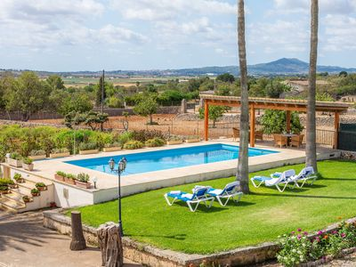 "Photo for Beautiful Villa ""Sa Garriga Finca Darder"" with Pool, Garden, Terraces & Wi-Fi; Parking Allowed"