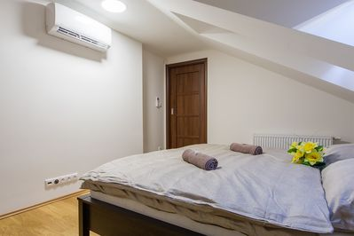 All bedroom have AC and blinds