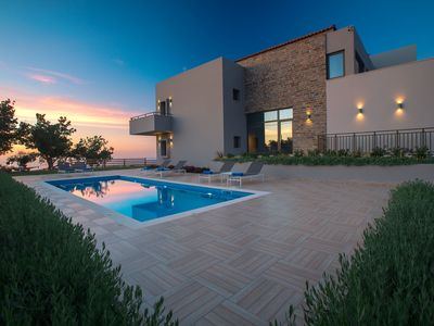 Photo for HIGH QUALITY VILLA WITH EXEPTIONAL VIEWS AND FULL PRIVACY