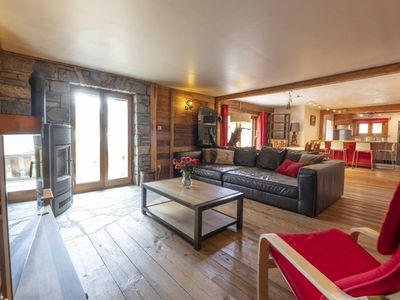 Photo for Stunning 6 person apartment located in the family ski resort of Montgenevre