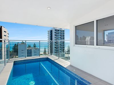 Photo for Eden Apartments Unit 1001 - Luxury 3 bedroom penthouse close to the beach in Rainbow Bay Coolangatta
