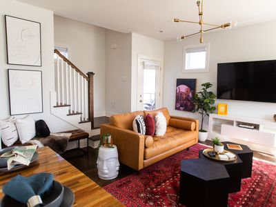Photo for Stylish 4BD 4 BA Modern Home 8th Ave South - Walk to Coffee, Food, Music