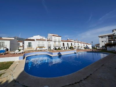 Photo for Cozy Apartment Bajamar 13 Close to the Beach with Wi-Fi, Air Conditioning, Balcony, Pool, Garden & Terrace