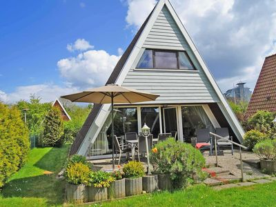 Photo for Tent roof house - very close to the beach - extra TV in the bedroom - tent roof house