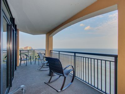 Photo for Newly Renovated in 2018! Direct Oceanfront 4 Bedroom Corner Condo at The Island