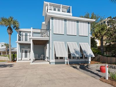 Photo for Book Spring 202 Now! 5 BR/5.5 Bath Luxury~Private Pool~Cabana~Steps to Beach