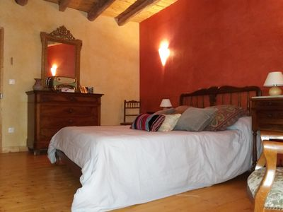 Photo for The eighteenth century house is opposite the fortified church of the village.