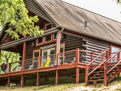Photo for Amazing Waterfront Cabin On The Caddo River.