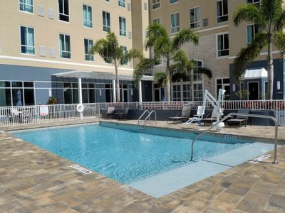 Photo for Free Shuttle, Free Breakfast, Pool, Gym. Great Location!