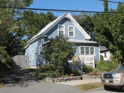 Photo for Great downtown Bar Harbor location~walk to everything with a nice yard too!