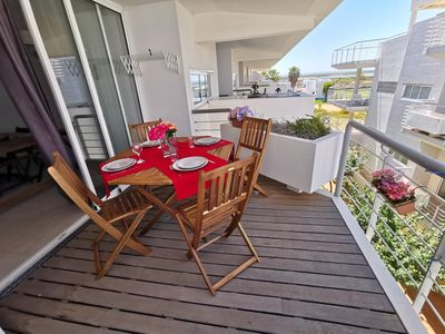 Photo for LUXURY DUPLEX T3 + 2 - PENTHOUSE SEA VIEW, BOAT FOR FREE - BEACH AND GOLF