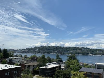 Photo for Top Floor Condo - Lake View - Parking - Close to Downtown Seattle