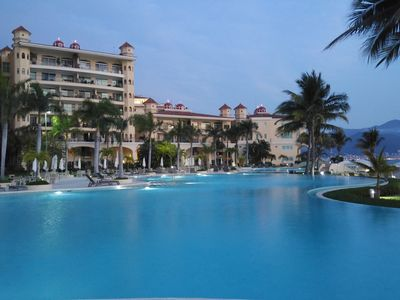 Photo for Villa Oceanfront Bay View  Grand Marina Vallarta. Mexican Style.
