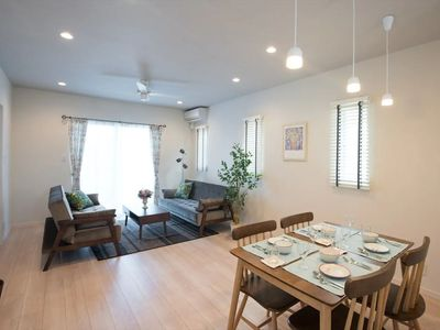 Photo for 5 minutes to Okinawa beach!French-style private house for up to 9 people! FH1