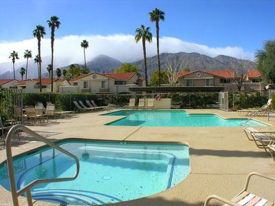Photo for Mesquite Country Club Condo Phase 2 + Amazing Pool & Mountain Views!