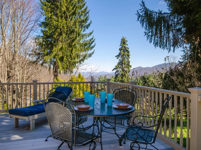 Photo for Escape w/views, kings beds, Hot-Tub, Full Sized Pool Table, WIFI-Sleeps 10