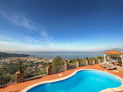 Photo for Villa Miramare in Sorrento, with 4 bedrooms, it can host 8 people.