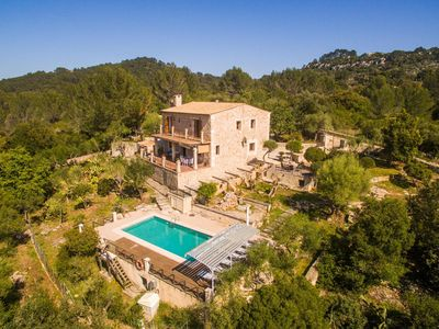 Photo for 4 bedroom Villa, sleeps 8 in Ullaró with Pool, Air Con and WiFi