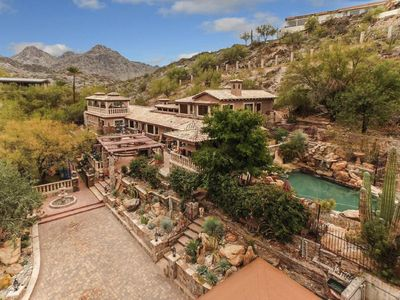 Photo for Awesome and Unique, An Arizona-Tuscan Style Oasis.  Rustic and Cool, Phenomenal