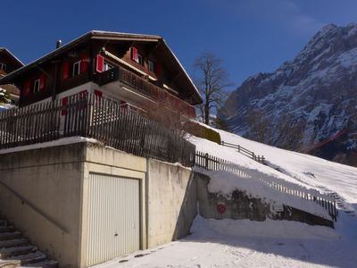 Photo for Apartment Chalet Albi in Grindelwald - 4 persons, 1 bedrooms
