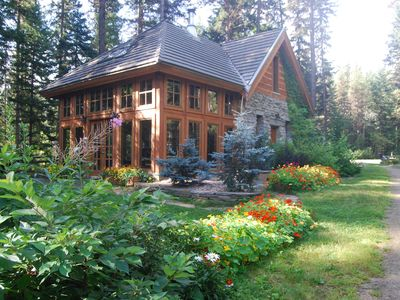 Photo for Stone Gatehouse in Mt. Robson Park Near Jasper Nat. Park, Ab