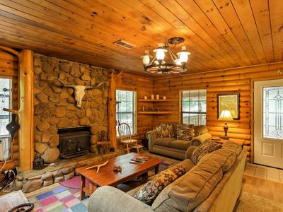 Photo for NEW! Quiet 2BR Jasper Cabin w/ Tranquil Creek Views