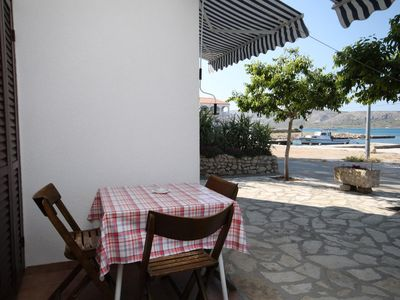 Photo for Studio flat near beach Kustići (Pag)