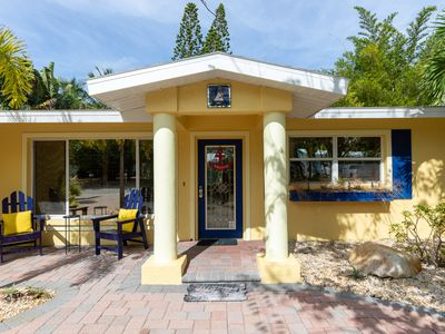 Photo for Dockside Delight 3 Bedroom Home in Siesta Key, Steps from Village with Pool!!