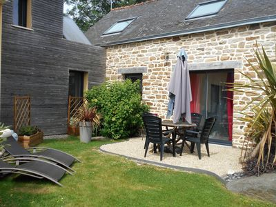 Photo for 1BR Cottage Vacation Rental in Saint-Évarzec, Bretagne