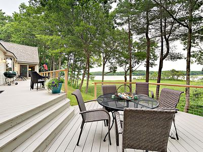 Deck - Welcome to Phippsburg! This property is professionally managed by Turnkey Vacation Rentals.