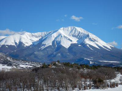 Photo for Beautiful Studio Apt, private setting with incredible views of Spanish Peaks
