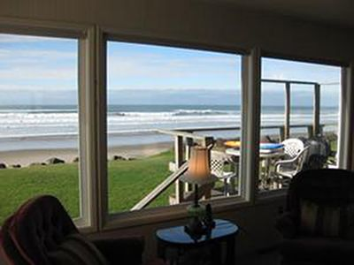 Watch the waves roll in from the comfort of the living room