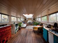 When in Amsterdam stay on a houseboat