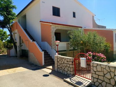 Photo for Apartment with 2 rooms and sun terrace 50 sqm, Wifi, air conditioning, satellite tv, fireplace grill sqm