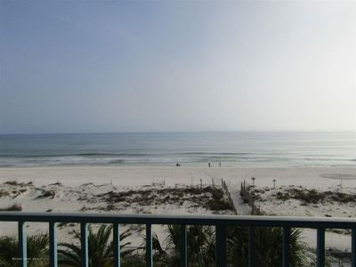 View from the balcony, Surfside Shores 2402