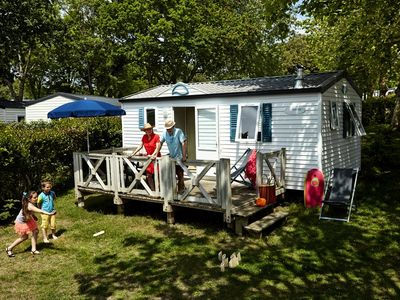 Photo for Camping De L'Eve **** - Mobile Home Riviera 3 Rooms 4 People