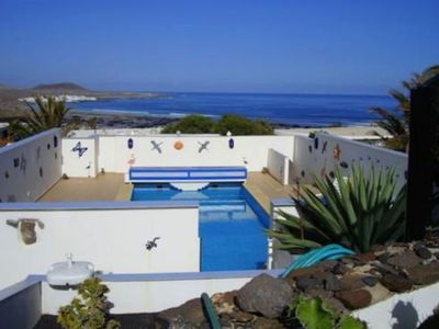 Photo for Comfortable, peaceful accommodation with fully heated pool and spectacular views