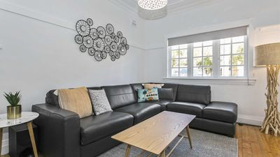 Photo for Seaspray - Manly beach apartment close to the sand