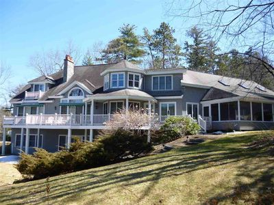 Photo for Wolfeboro: 6 Bedroom 6500 SF Lake Winnipesaukee waterfront home