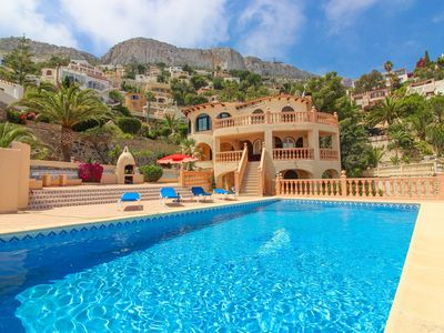 Photo for Villa with sea views and private pool MAR1701