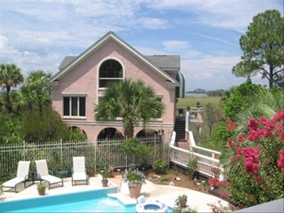 Photo for Fripp Island Guest Hse with Private Pool - Gorgeous Water View