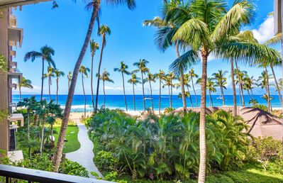 Photo for Maui Resort Rentals: Ka'anapali Ali'i 432 - Deluxe Oceanview Interior Courtyard