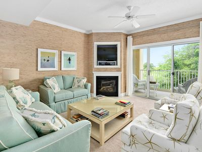 Photo for Stunning 2 BR 2 BA Unit in a Quiet Bay Front Condominium - With a Pool!