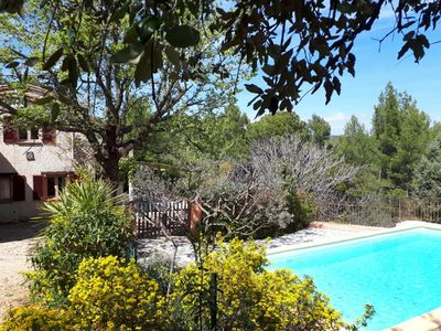Photo for Big house with large garden, very calm in Flayosc, between Provence and French Riviera