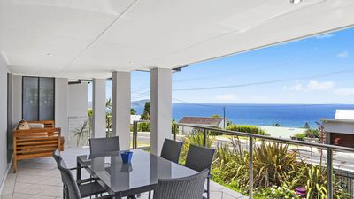 Photo for BARNHILL BEACH HOUSE, TERRIGAL - OCEAN VIEWS, POOL, SHORT WALK TO BEACH & SHOPS